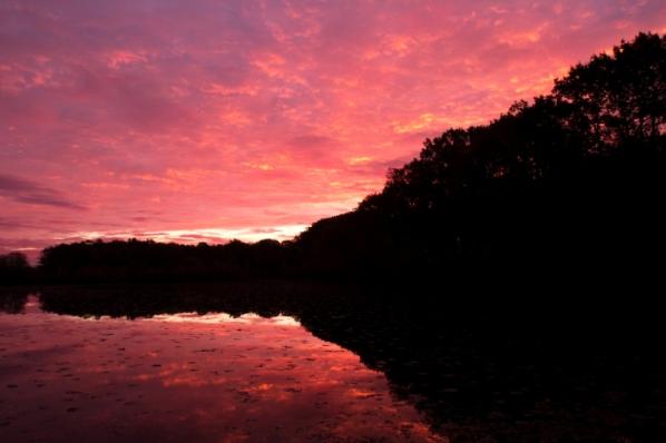 Sunrise on an Autumn Day